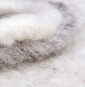 Handstrickgarne mit Schurwolle