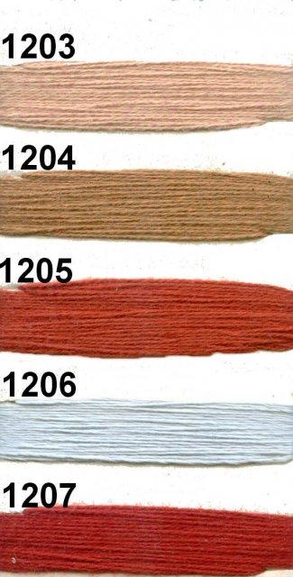 1200 YARA (50% Mako-Baumwolle, 50 % Polyacryl)