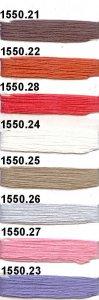 1550/3 NIZZA (96 % Viskose, 4 % Elastan)